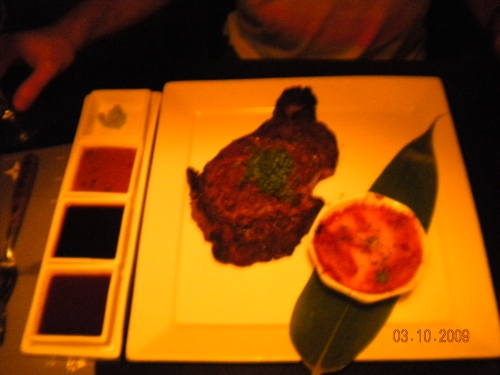22 oz Ribeye Steak - I can't believe Brian ate it all!